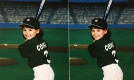 To Quit or Not to Quit: image of Cody Brook's softball photo