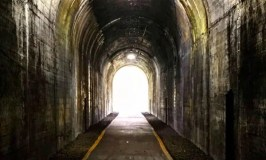 When the end is near: Image of a tunnel with light on other side