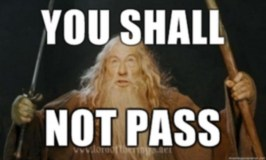 Boundaries 101: Image of Gandalph saying You Shalll Not Pass