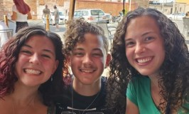 Curly Hair 103: image of two young women and one young man all with curly hair