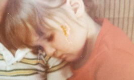 SweetGirl: Child Sexual Abuse Image of a young girl asleep on a young boy's shoulder