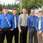 Travis Tyson Austin Andrew Walter and Levi Marcotte