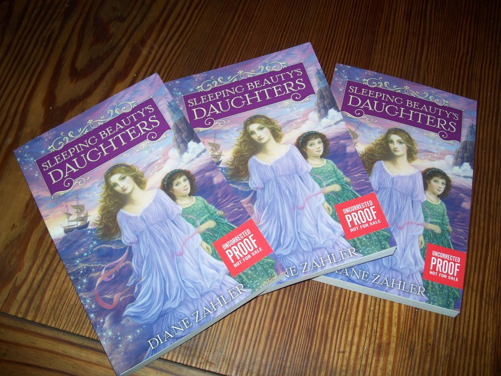 Sleeping Beauty S Daughters Arc Giveaway Diane Zahler border=