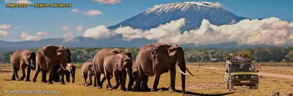Safaris 3jours Tsavo Amboseli Kenya