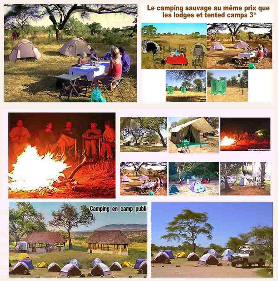 Safaris camping Tsavo Diani 3jours