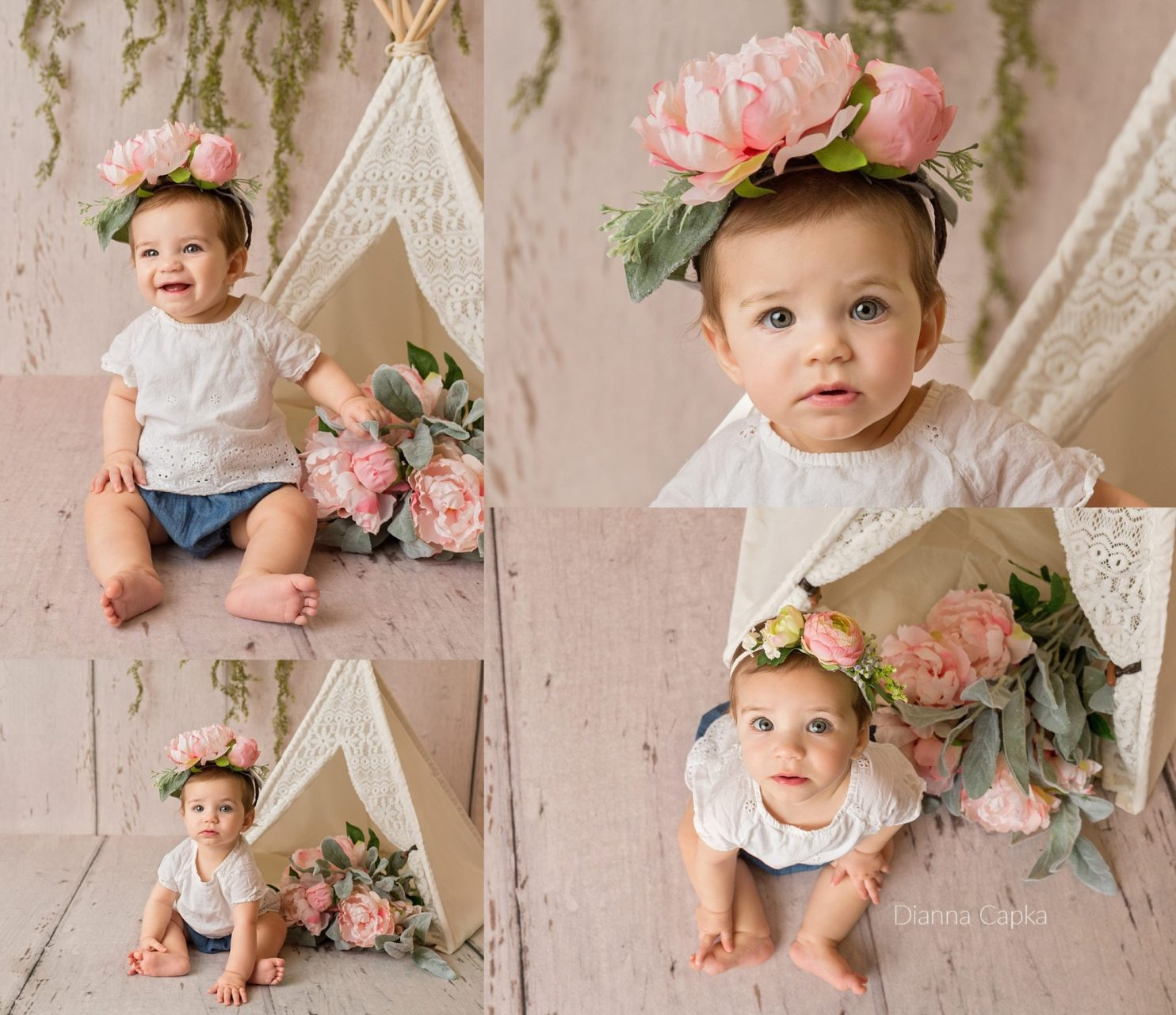 9 month old Lucy Lancaster baby photographer