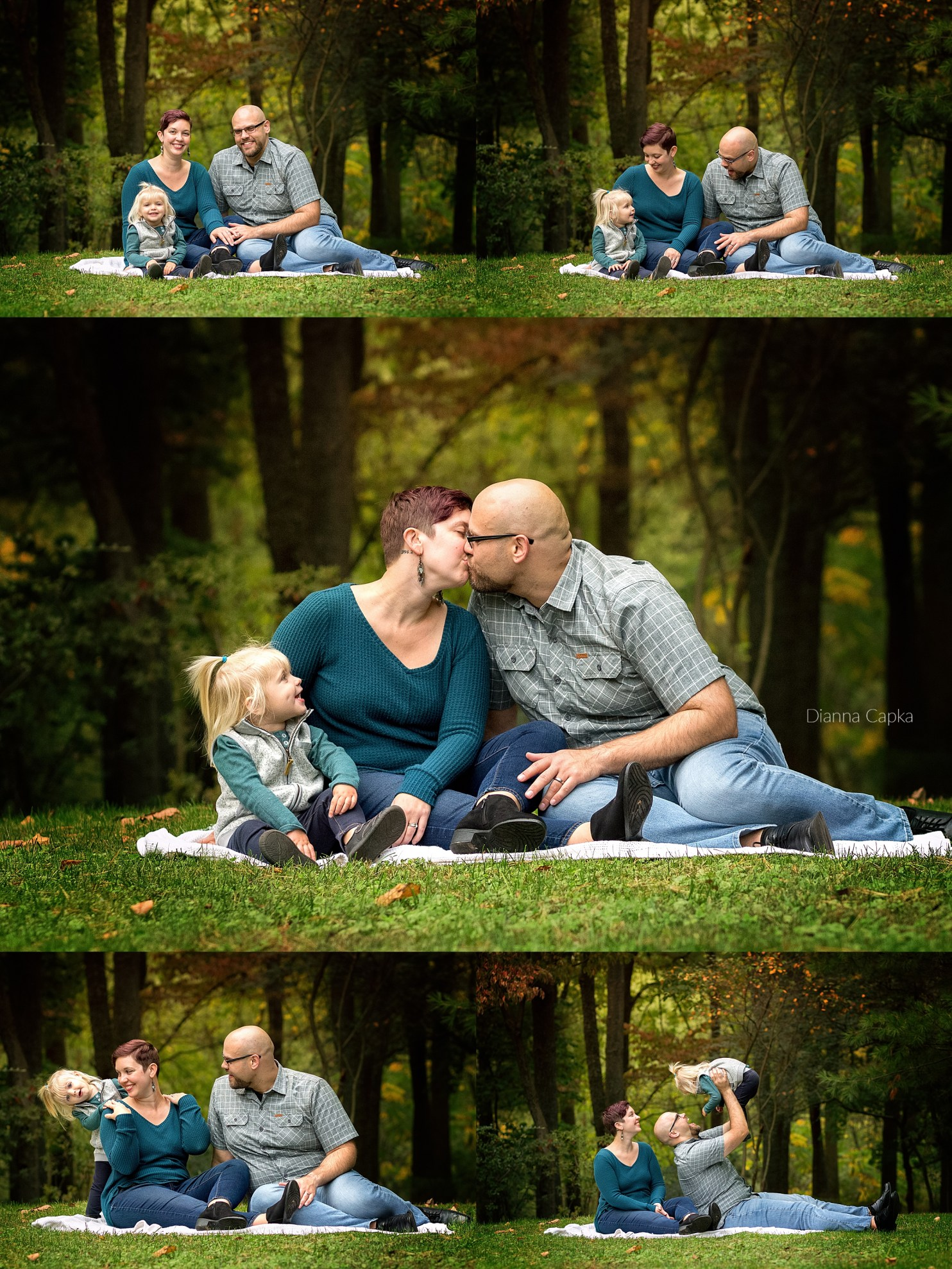 Ellie is two Lancaster family photographer