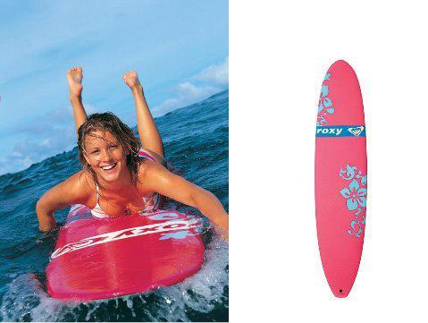 Roxy and SurfTec Board Design