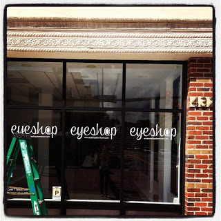 Eyeshop Branding and In Store Signage