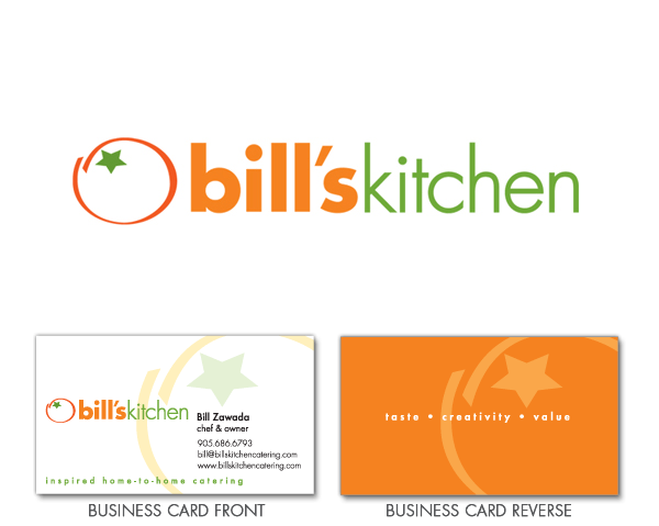 Bill's Kitchen logo design
