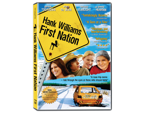 Keyart for home entertainment: Hank Williams First Nation