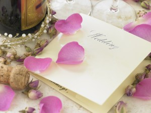 Finalize your wedding menu