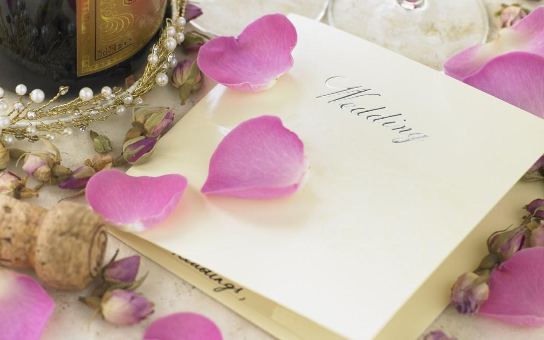 Deadline for Finalizing Your Wedding Menu