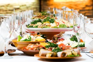 Gourmet corporate event catering service