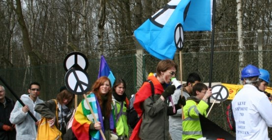 CND anti-nuke protest
