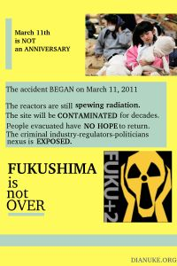 Fukushima is Not over