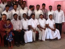 Koodankulam antinuclear convention, in Idinthakarai