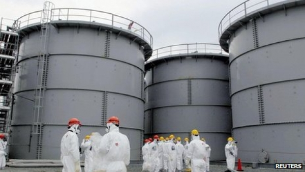 Fukushima contaminated water tanks