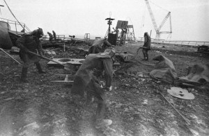 September 1986, Chernobyl, Ukraine --- Chernobyl - The Aftermath --- Image by © Igor Kostin/Sygma/Corbis