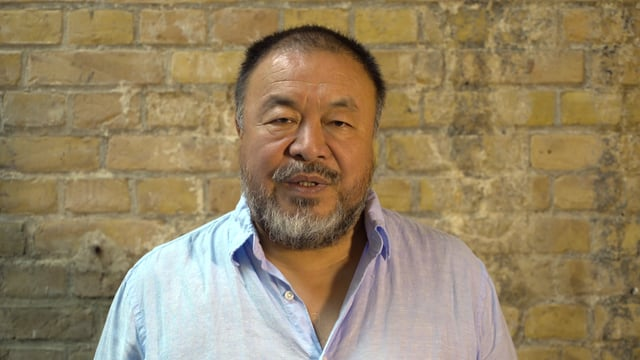 Video: renowned Chinese artist Ai Weiwei supports global nuclear ban treaty