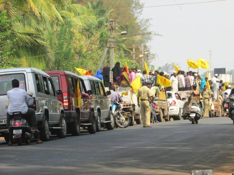 Jail Bharo Jaitapur anti-nuclear 2015