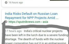 Russia's Nuclear Projects in India Face Financial Crisis, Media Censored to Hide this Truth