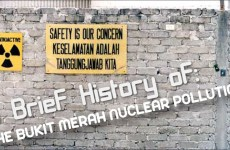 A Brief History of the Bukit Merah Nuclear Pollution in Malaysia