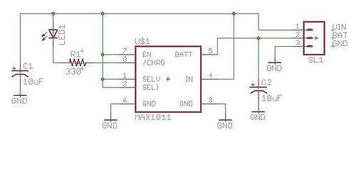 MAX1811集成电路锂电池USB充电器_国外电子资料_电子爱好者