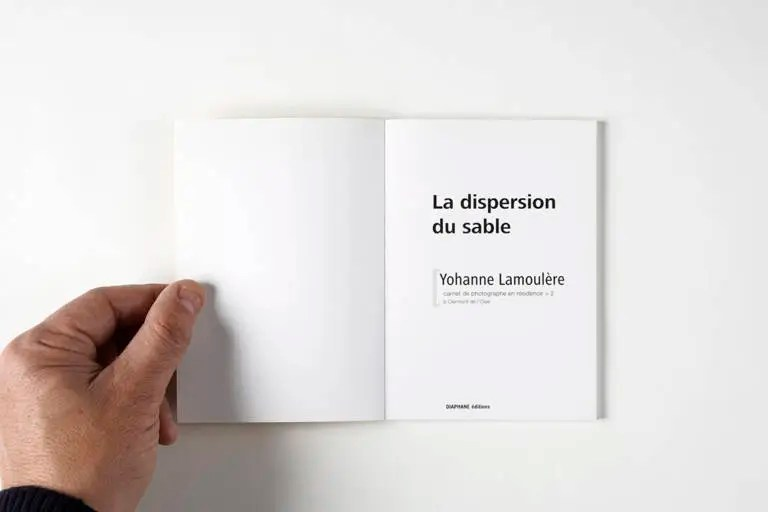 La dispersion du sable - Yohanne Lamoulère [2013]