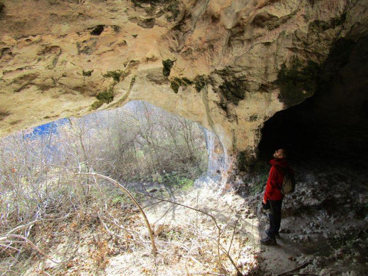 grotte del sentiero san bernardino