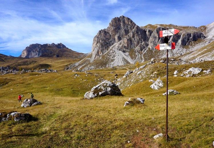 bivio sentiero 466