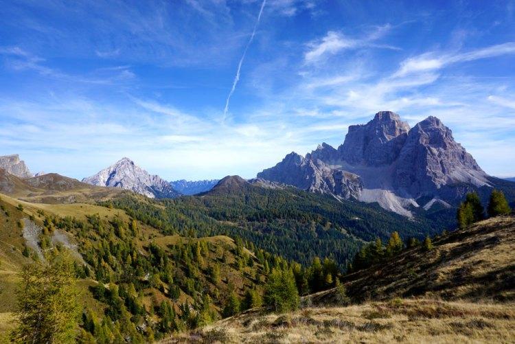 vista sul monte Pelmo