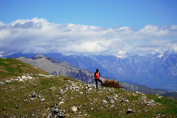 dal monte Tomba al monte Palon