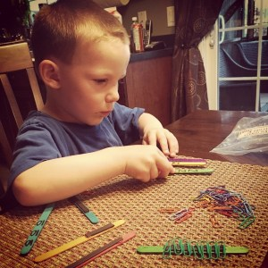 paper clips, popsicle sticks, numeracy, learn through play, montessori, busy bags, sensory play, counting