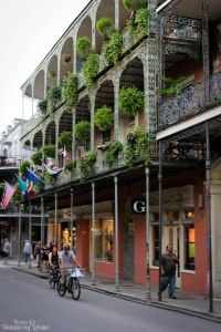 Traditional French Quarter architecture