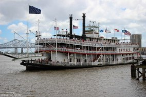 A Mississippi Riverboat on the river