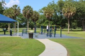 city park outdoor gym new orleans