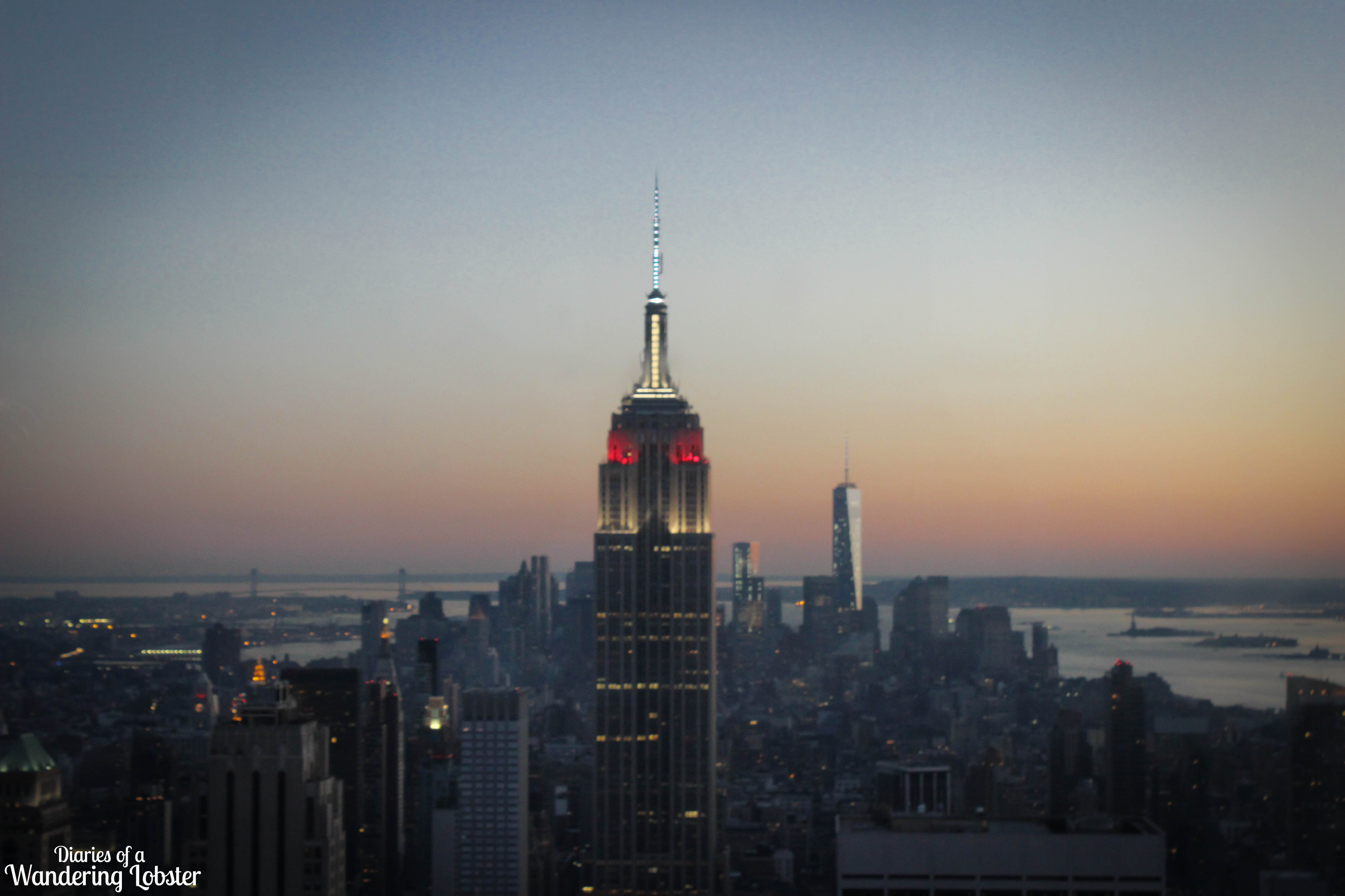 An Epic Sunset on the Top of the Rock NYC - Diaries of a Wandering Lobster