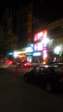 montreal street night