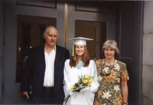 High school graduation almost 10 years ago... oh how time flies...