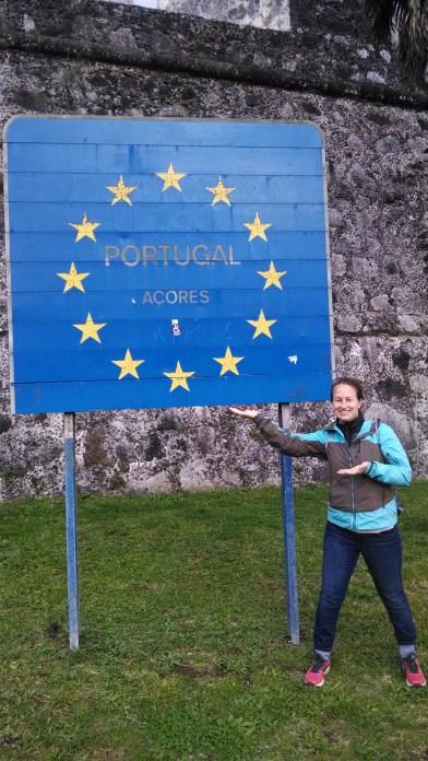 Ponta Delgada Azores sign