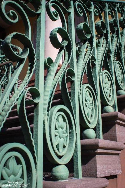 Charleston City Market iron gate