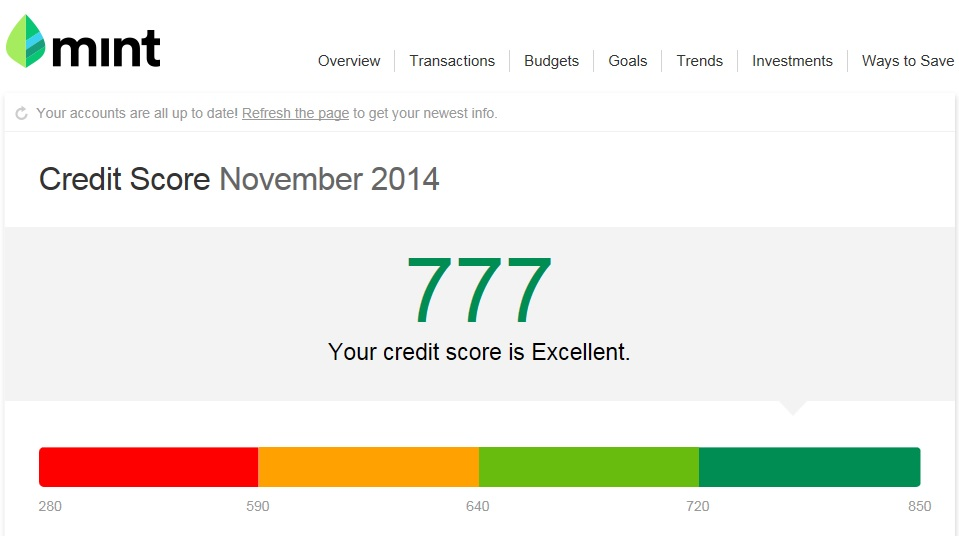 720 Credit Score >> How To Get Your Free Credit Score Diaries Of A Wandering