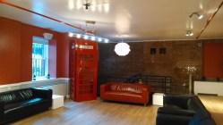 HI NYC Hostel common room