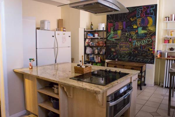 Kitchen DC Lofty Hostel