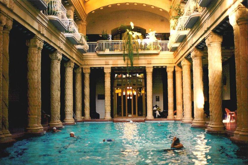 Gellert Baths Budapest