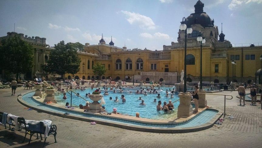 Szchenyi Bath Budapest