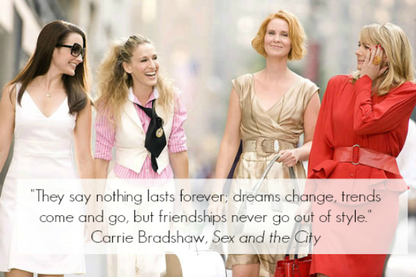 Quotes from sex and the city the movie