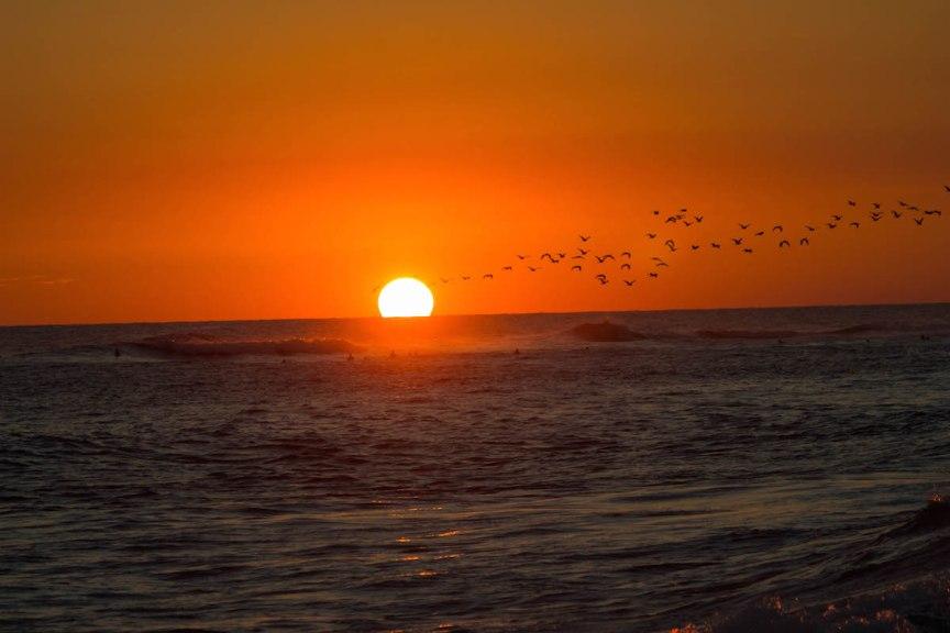 El Tunco El Salvador sunset Great Escape