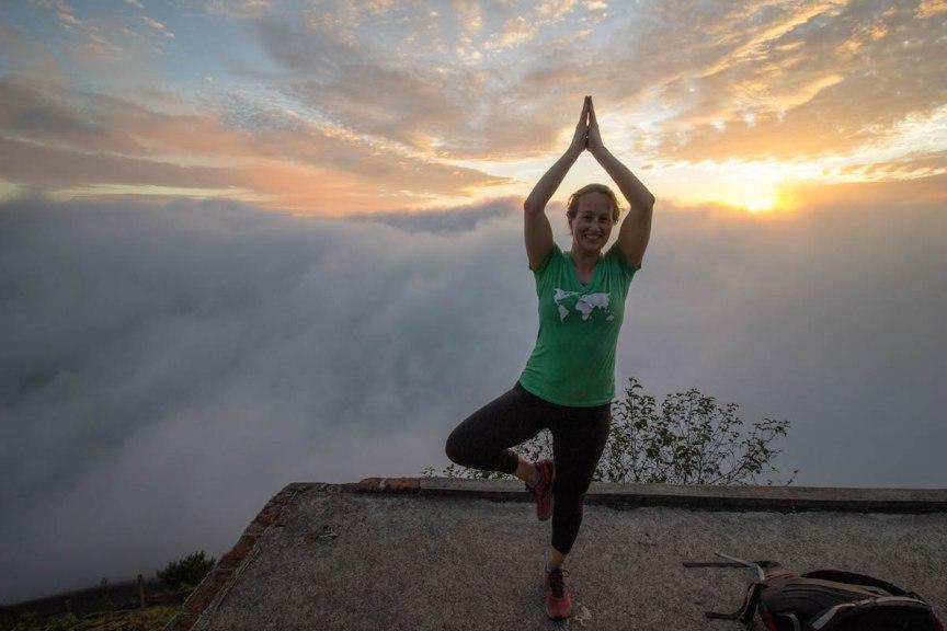 Pacaya Volcano yoga Guatemala Great Escape